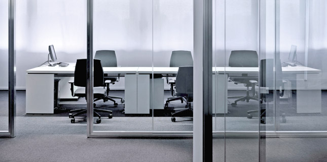 b ro trennwand glas trennwand innenausbau asi lagersysteme stuttgart. Black Bedroom Furniture Sets. Home Design Ideas