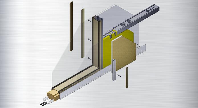 B ro trennwand glas trennwand innenausbau asi - Trennwand bauen ohne boden beschadigen ...